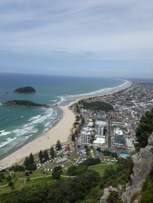 Views from the top of Mount Maunganui